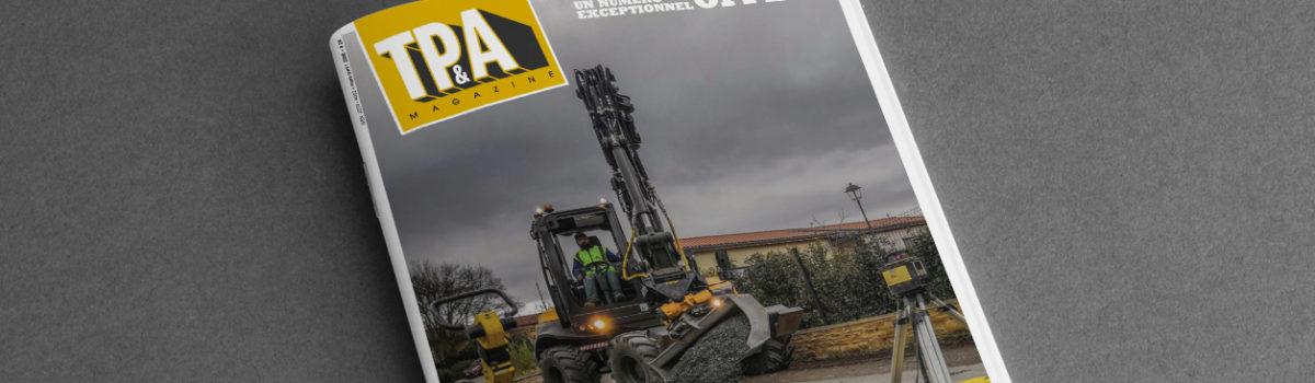 SOVETRA A L'HONNEUR DANS LE MAGAZINE TP & AMENAGEMENTS