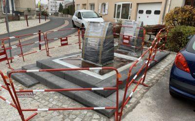 ESPALY & COUBON : mise en place de conteneurs enterrés