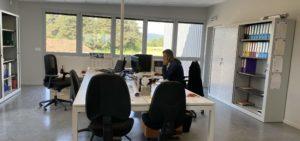 SOVETRA Terrassement - Réseaux - Génie Civil - Des locaux spacieux et fonctionnels ZA des Fangeas